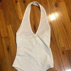 Tobi white body suit
